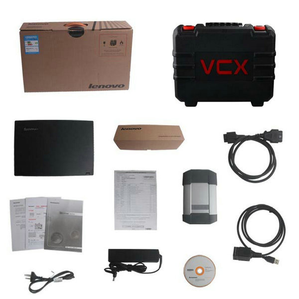 AllScanner VCX-PLUS MULTI Scanner (Porsche Piwis Tester II V14.0+Land Rover JLR V139) with Panasonic CF-30 or Lenovo E49 Laptop