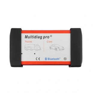 New Design Bluetooth Multidiag Pro+ V2014.02 for Cars/Trucks and OBD2 with 4GB Memory Card and Plastic Box