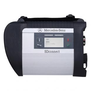 MB SD Connect Compact 4 Star Diagnostic Tool With WiFi 2015.12 Version