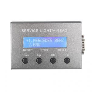 Universal 10 in 1 Service Light and Airbag Reset Tool