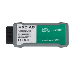 VXDIAG VCX NANO for Land Rover and Jaguar 2 in 1 Software V141