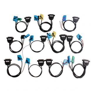 Full Set Cables for Digiprog III Digiprog 3 V4.79 Odometer Programmer
