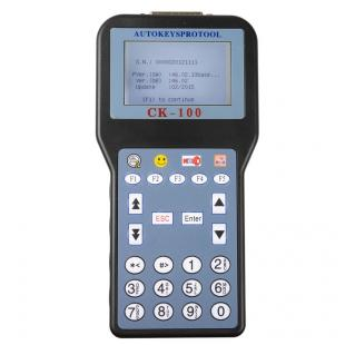 Newest V46.02 CK-100 CK100 Auto Key Programmer With 1024 Tokens Add New Car Models(Ford, Honda and Toyota)