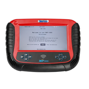 SKP1000 Tablet Auto Key Programmer A Must Tool for All Locksmiths Perfectly Replaces SKP900 Key Programmer