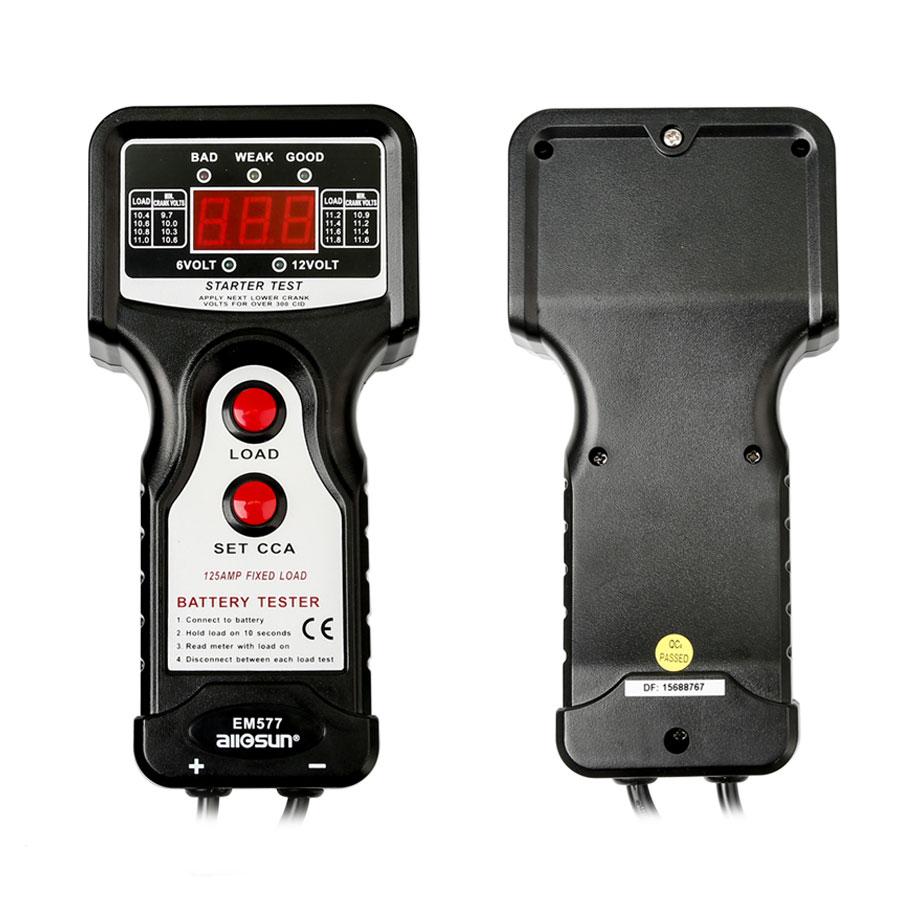 Sun Battery Tester : All sun em battery tester v cca digital automotive