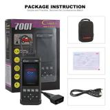 Launch CReader 7001 Full OBD2 Scanner/Scan Tool with Oil Resets Service