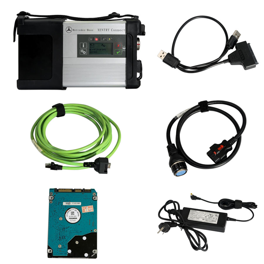 Mb star c5 xentry sd connect 5 doip wifi mercedes benz for Mercedes benz star diagnostic tool