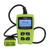 JDiag JD101 OBDII EOBD CAN Code Scanner Car Diagnostic Tool