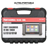 Autel Original MaxiCOM MK808 Diagnostic Tool 7-inch LCD Touch Screen Swift Diagnosis Functions of EPB/IMMO/DPF/SAS/TMPS and More