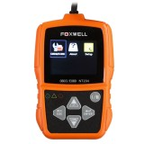 Original FOXWELL NT204 OBD2 CAN Diagnostic Tool Fault Code Reader Multi-languages Available