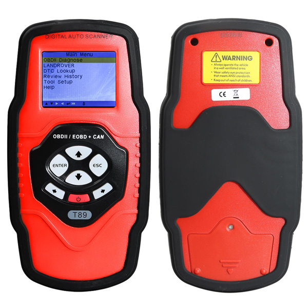 QUICKLYNKS T89 Land Rover All System OBDII Diagnostic Tool Engine