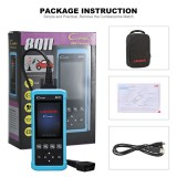 Launch DIY Code Reader CReader 8011 Full OBD2 Scanner OBD+ABS+SRS+Oil+EPB+BMS for TOYOTA,FORD,BENZ