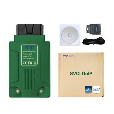 SVCI DoIP JLR Diagnostic Tool with PATHFINDER & JLR SDD V157 for Jaguar Land Rover 2005-2019 with Online Programming Function