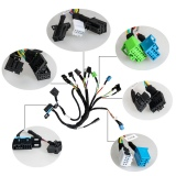 2019 New Set of BENZ EIS/ESL Cables+7G Cable+ISM + Dashboard Connector for VVDI MB Tool
