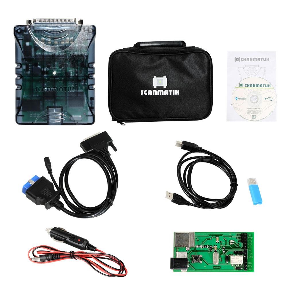 Scanmatik 2 PRO J2534 PassThru Multi-diagnostic & SAE J2534