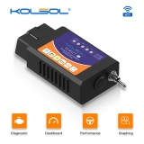 KOLSOL ELM327 WIFI OBD2 Scanner V1.5 ELM327 with Switch Car Scanner