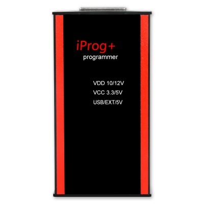 V80 Iprog+ Pro with 7 Adapters Support IMMO + Mileage Correction + Airbag Reset