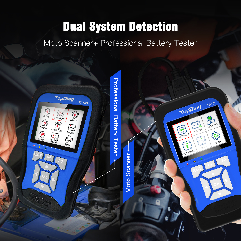Motorcycle OBD Auto Scanner Code Reader SYM,Honda,Yamaha,Suzuki,Kymco Kawasak,et