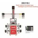 Original LAUNCH X831S+ X831 Plus 3D 4-Post Car Alignment Lifts Platform Supports Multi-language UNICODE