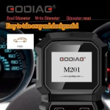 GoDiag M201 FORD Hand-held OBDII Odometer Adjustment Professional Tool