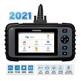 TOPDON ArtiDiag600 OBD2 Scanner Auto Code Reader 4 System Car Diagnostic Tool ABS SRS Engine Test Automative Scanner Free Update