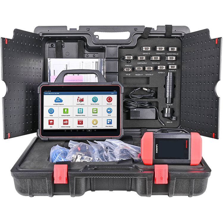 Launch X431 PAD VII PAD 7 Full System Diagnostic Tool with X-PROG3 Immobilizer & Key Programmer Supports All Keys Lost