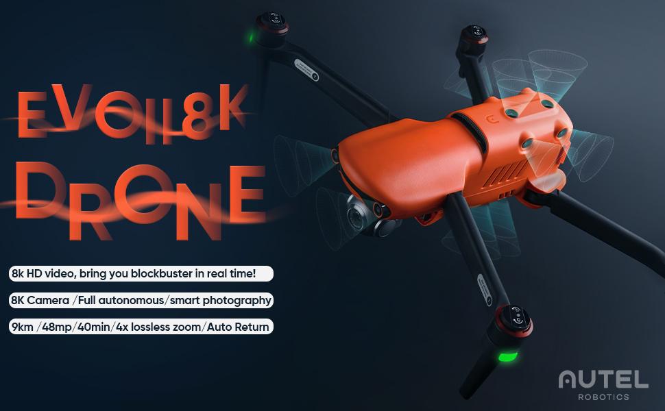 EVOII 8K drone display