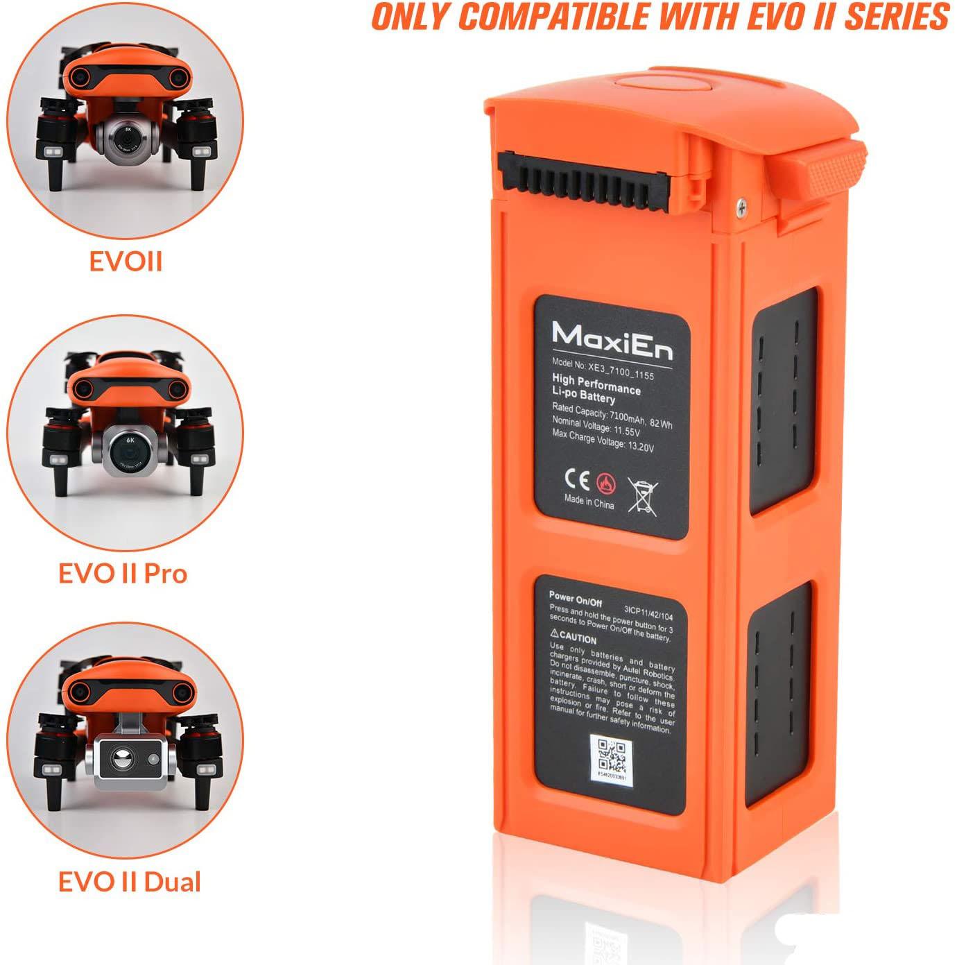 EVOII battery description