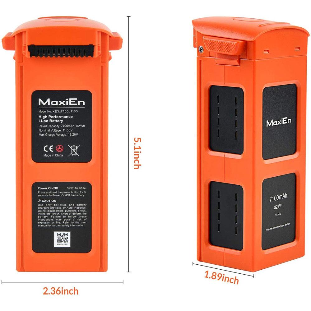 EVOII EVOII PRO battery package display