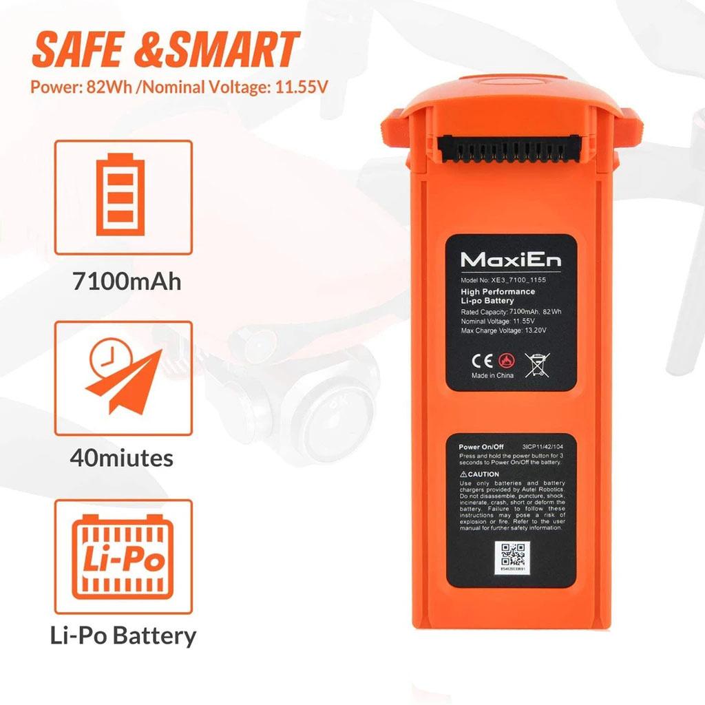 EVOII EVOII PRO battery