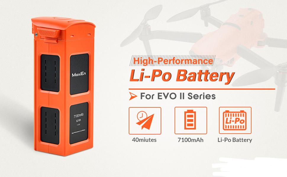 Li-Po Battery for EVOII series