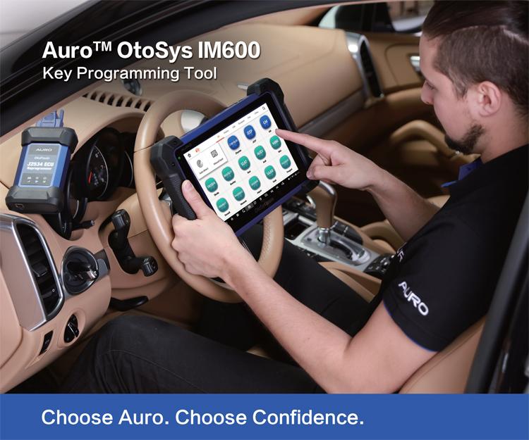 Auro OtoSys IM600 Diagnostic Key Programming and ECU Coding