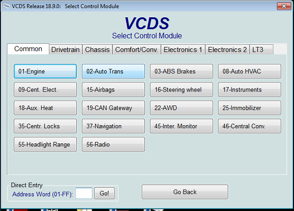 VCDS VAG COM 18.9.0 VCDS 18.9.0 Original Plan 18.9.0 VCDS VAG COM Kable HEX+CAN USB interface Support for upgrading 19.6