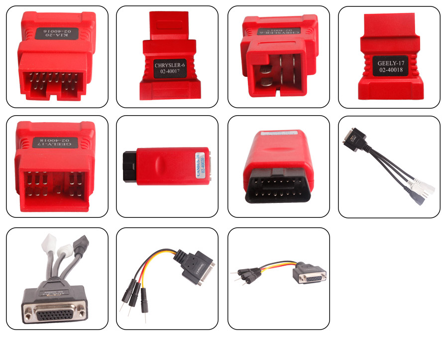 ads 1 fault diagnostic scanner cables