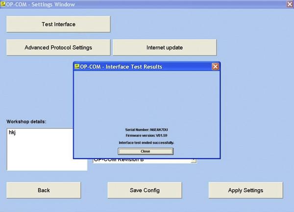Opcom OP-Com 2010 V Can OBD2 for OPEL Firmware V1 59 - USD$22 99