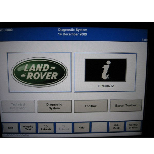 T4 Moblie Plus Diagnostic System for Land Rover Software Display 2