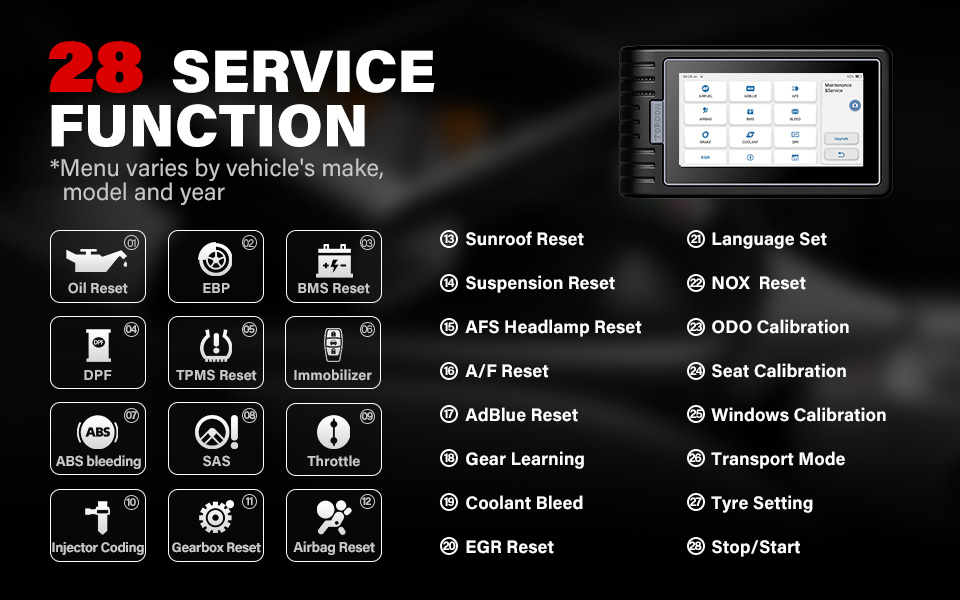TOPDON ArtiDiag 800 BT Car Diagnostic Tool Automotive Scanner Auto Scan Tools Bluetooth All System 16 Reset Functions PK MK808BT