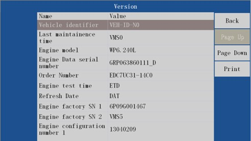 VDSA-HDECU Diesel ECU Flashing Tool function 1