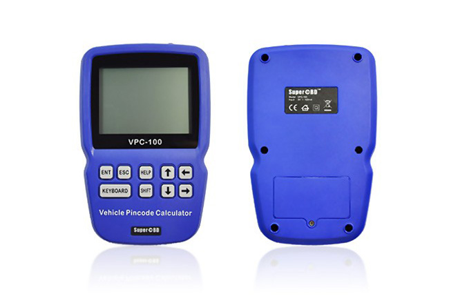 vpc 100 hand held vehicle pincode colulation display