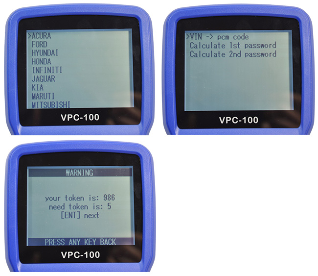 vpc 100 pincode service display
