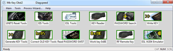 Diagspeed MB Key OBD2 Software-1