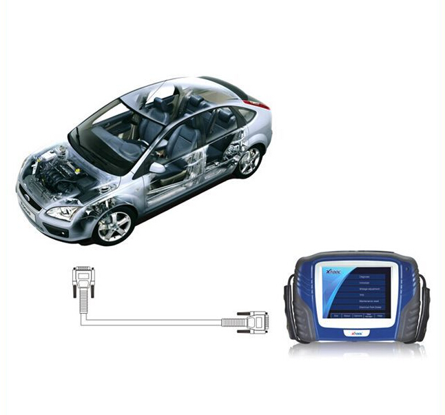 XTOOL PS2 GDS Gasoline Bluetooth Display-1