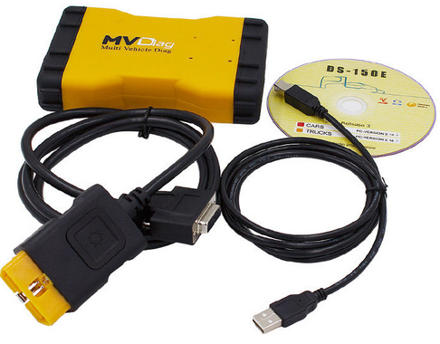 New MVDiag Multi Vehicle Diag With Bluetooth WOW 5.00.12