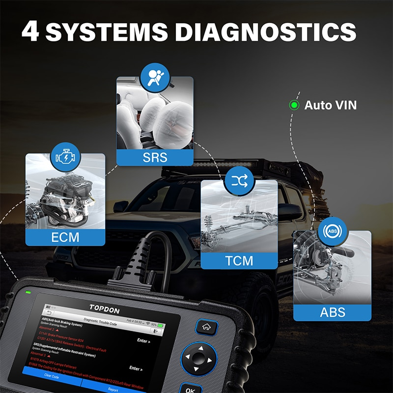 TOPDON-ArtiDiag600-OBD2-Scanner-Auto-Code-Reader-4-System-Car-Diagnostic-Tool-ABS-SRS-Engine-Test-Automative-Scanner-Free-Update-1005002219583774